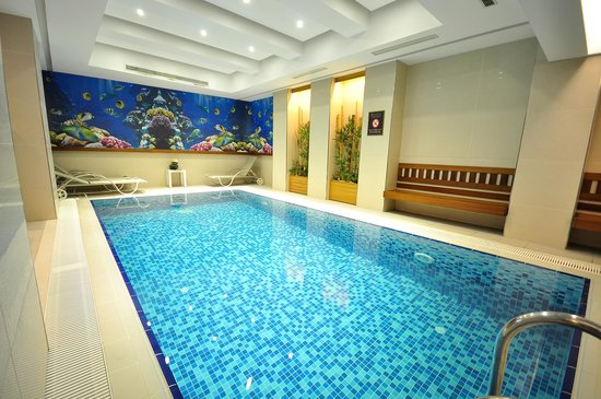 Neorion Hotel: Indoor Pool