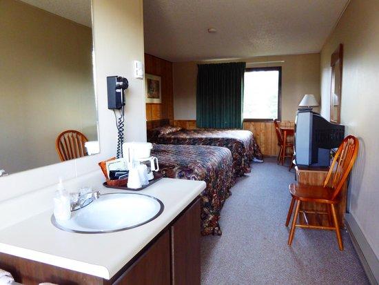 Denali Park Hotel: Zimmer mit 2 Queen