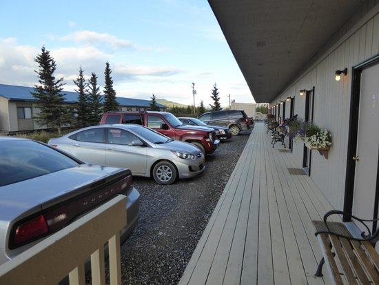 Healy, Αλάσκα: Vor den Zimmern