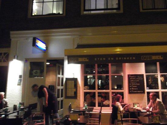 Dubbel Restaurant: Outside the restaurant