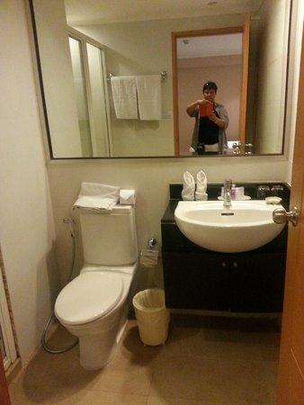Citin Pratunam Hotel by Compass Hospitality: ванная комната