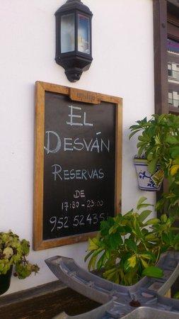 El Desvan Taperia: Reservations