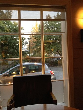 Hotel Reykjavik Centrum: View from restaurant-bar