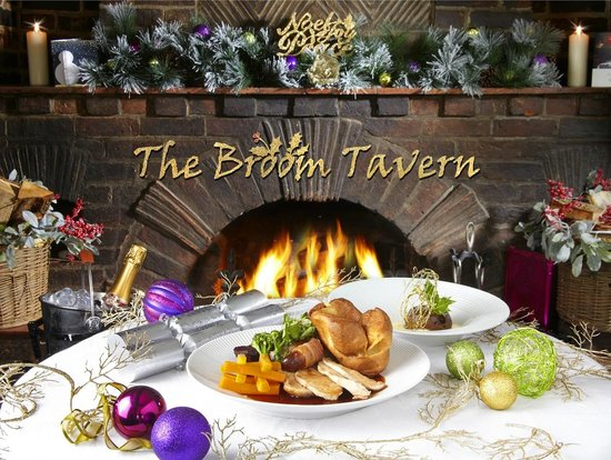 The Broom Tavern : Festive dinners in front of our roaring log fires