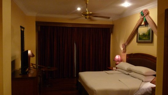 Apsara Angkor Resort & Conference : Notre chambre