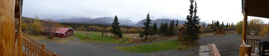 Majestic Valley Wilderness Lodge: Blick vom Hotel