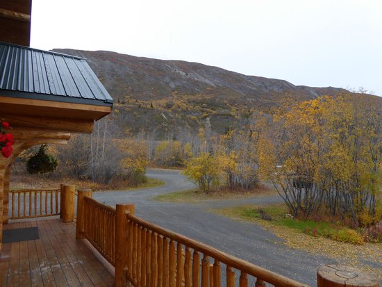 Majestic Valley Wilderness Lodge : Blick Richtung Highway