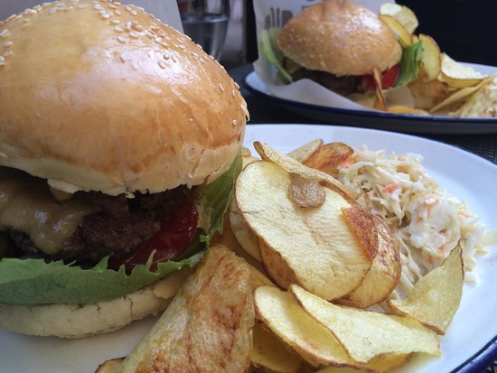 double burger without bacon and cheese burger chips are great picture of brgr budapest. Black Bedroom Furniture Sets. Home Design Ideas