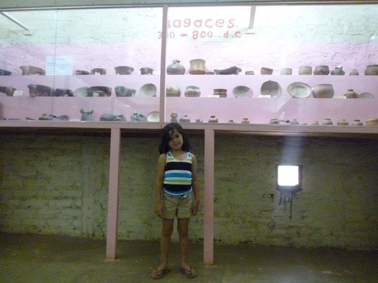 Museum El Ceibo: She loved it