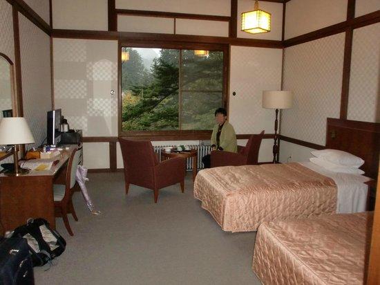 Nikko Kanaya Hotel: 部屋です