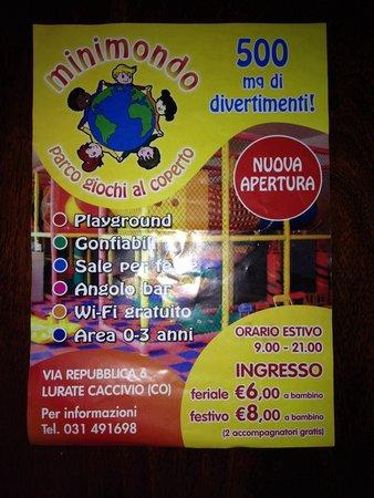 Lurate Caccivio, Italy: Minimondo
