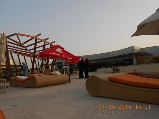 Hilton Capital Grand Abu Dhabi: zalige ligbedden