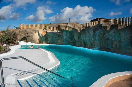 Rock Climbing Wall And Pool Crater Park Picture Of Pierre Vacances Village Fuerteventura