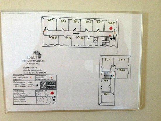 Welcome Hotel Residenzschloss Bamberg: Floor Plan - Room 355 Red Dot