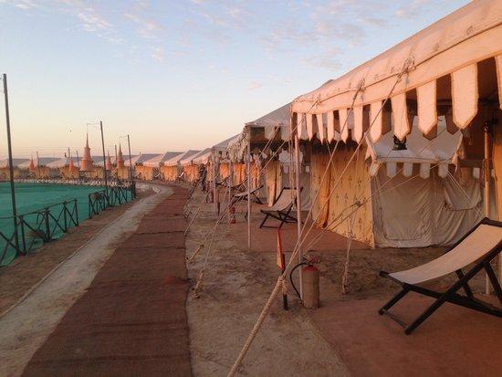Great Rann of Kutch: Tent Accomodation