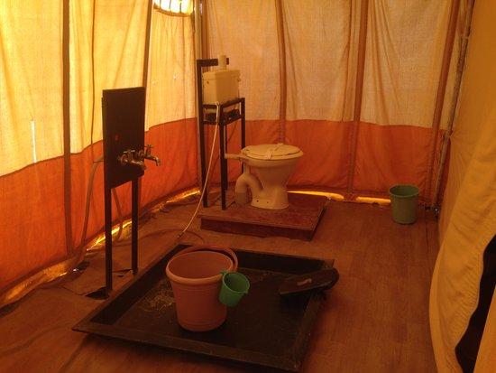 Great Rann of Kutch Tent Room Bathroom Pic 2 & Tent Room Bathroom Pic 2 - Picture of Great Rann of Kutch Kutch ...