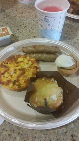 Hampton Inn Idaho Falls At the Mall : Delicious Breakfast