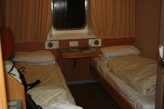 NorthLink Ferries: Kabine am Schiff