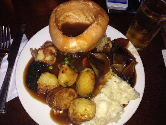 Toby Carvery Langley Green: Cold food