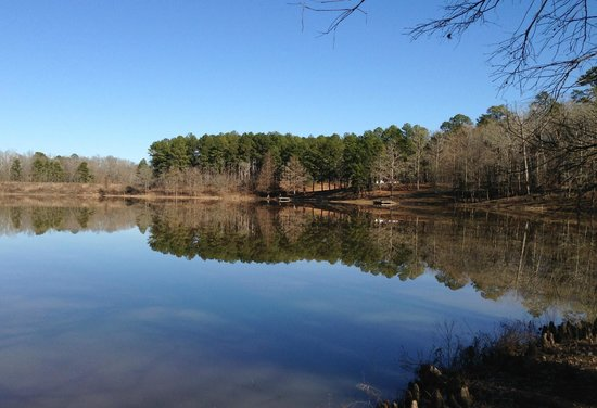 Holly Springs National Forest: Puskas Lake--one of the nicest spots in HSNF.