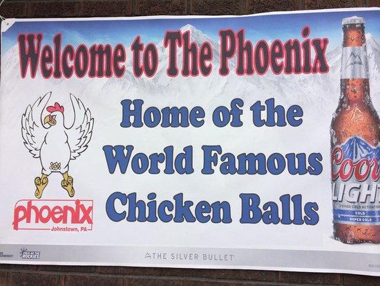 The Phoenix Tavern : Home base for chicken balls