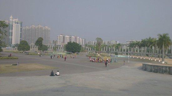 Shajing Town: 居民活動場所