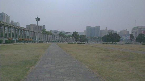 Shajing Town: 空曠