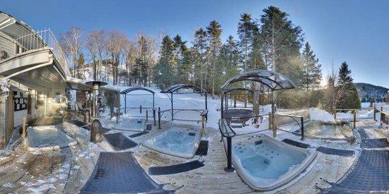 Hotel Spa Watel : Spa hiver de jour