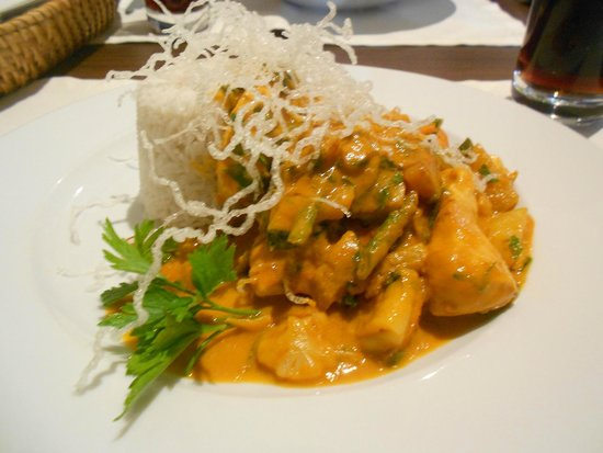 EigenArt: Poulet au curry