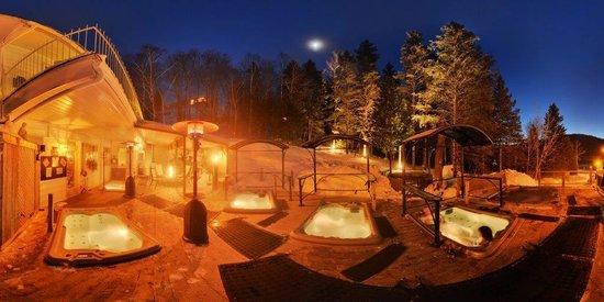 Hotel Spa Watel : Spa hiver de soir