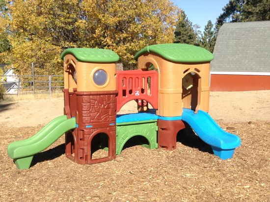 Pine Knot Guest Ranch: New 2-5 yr old playset