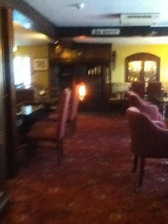 The Ford Inn: The old fire place
