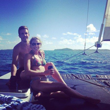Sail Safaris: Sailing on Fly Girl