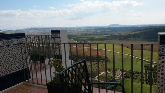 Hotel El Convento: View from balcony
