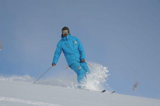Puy-Saint-Vincent, Francia: Ski Hors piste Puy ST vincent