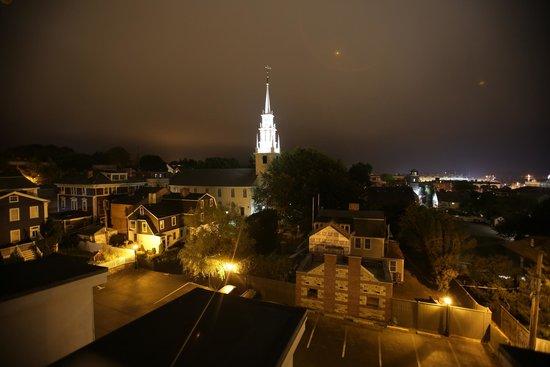 The Vanderbilt Grace: Roof at night