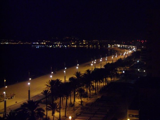 HM Gran Fiesta: Night view from floor 8