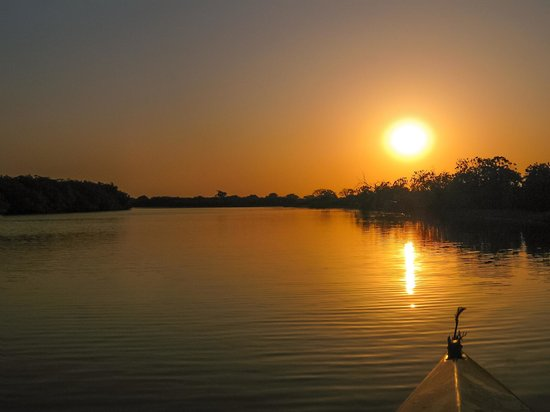 Palmarin, Senegal: Sunset in the Sine-Saloum