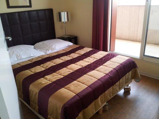 Appart'hôtel Odalys Olympe : chambre