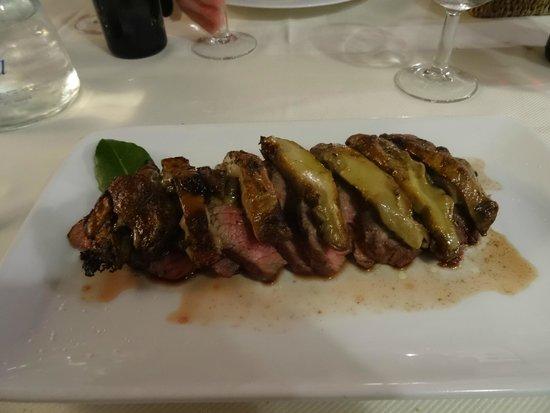 Ristorante La Briciola : Tagliata with porcini