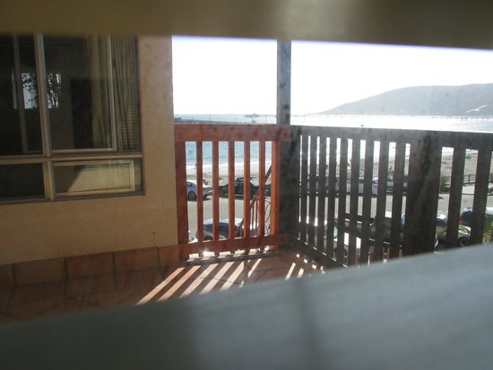 Inn at Avila Beach: The view of Avila bay from a side window in our room.