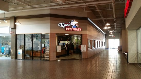 Kiser's Barbeque Express: BBQ in the mall!