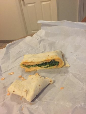 Bagel Market: Our square buff chix wrap
