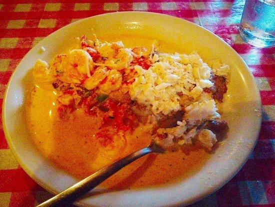 Adolfo's: Grouper with ocean sauce