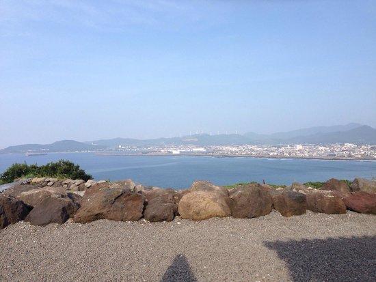 Makurazaki Nagisa Onsen : 枕崎港を一望!