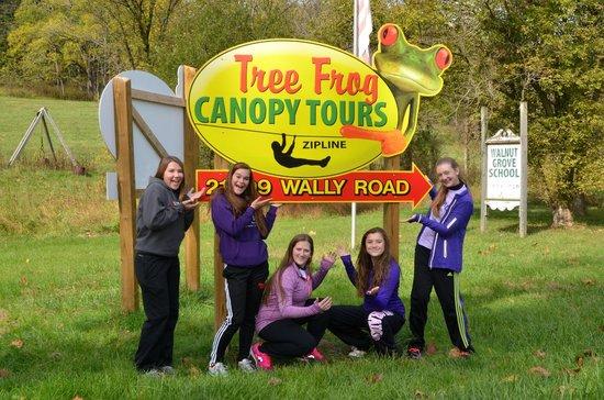 Tree Frog Canopy Tours Zipline Finally arrived & Finally arrived - Picture of Tree Frog Canopy Tours Zipline ...