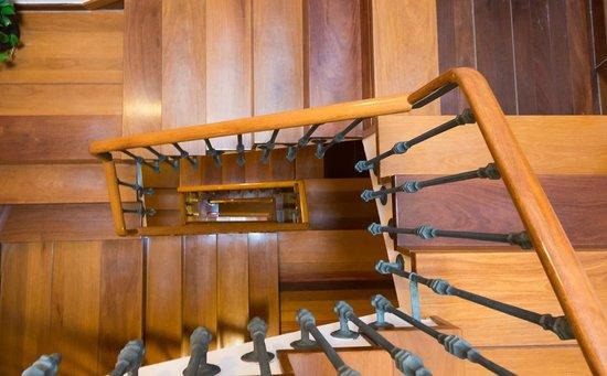Hotel Herradura: Escaleras