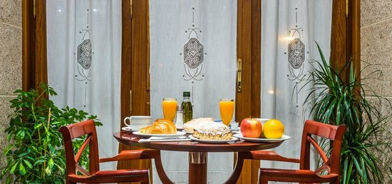Hotel Herradura: Cafetería