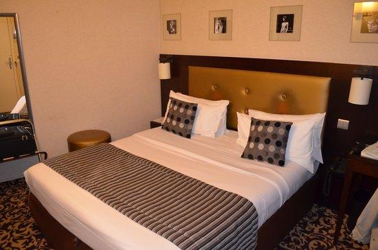 Hotel Abbatial Saint Germain: La camera