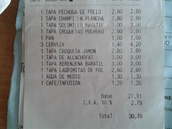 Bar El Baratillo: El Baratillo Agosto 2014
